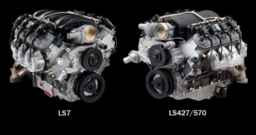 chevrolet performance LS7 LS427 570