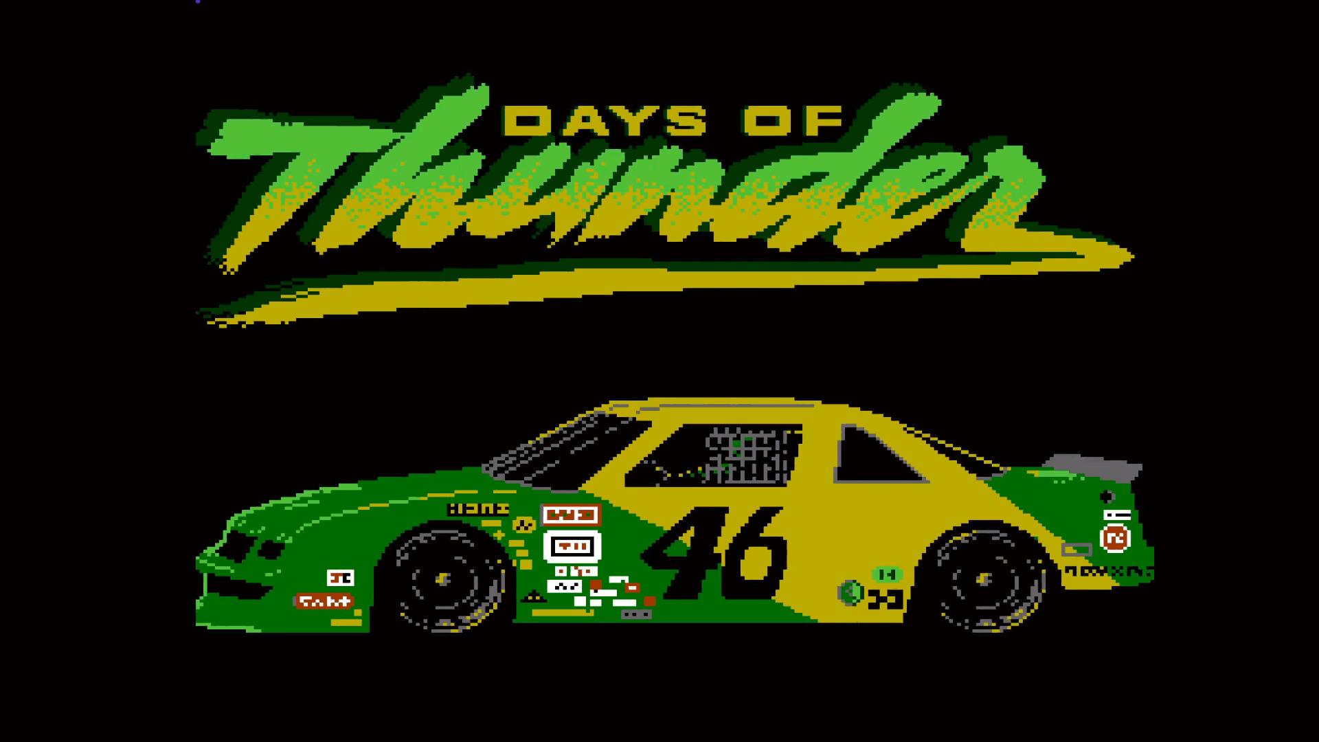 """""""Days of Thunder"""", el videojuego de NES que vio la luz 30 años después"""