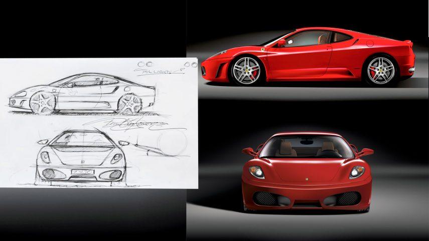 Frank Stephenson nos muestra cómo diseñó el Ferrari F430