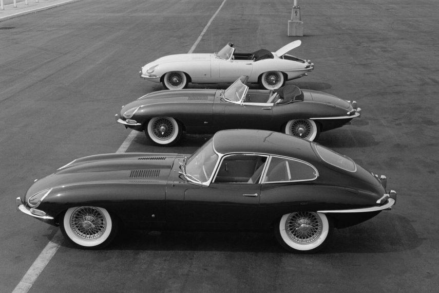 Jaguar E Type MkI 1