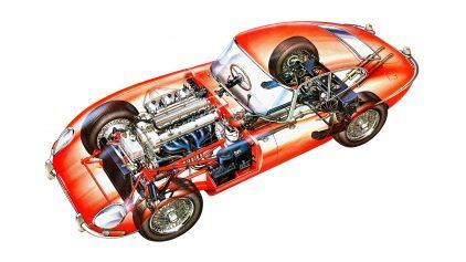 Jaguar E Type MkI 4