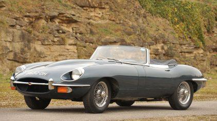 Jaguar E Type Roadster MkII 1