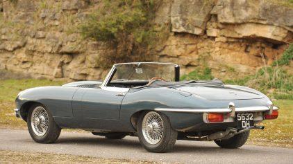 Jaguar E Type Roadster MkII 2