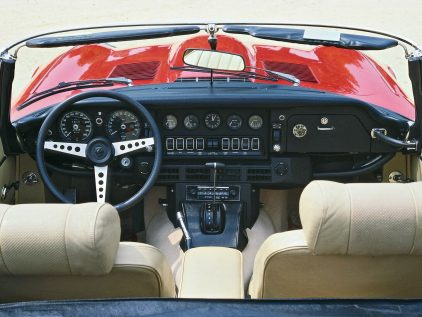Jaguar E Type Roadster V12 MkIII 2
