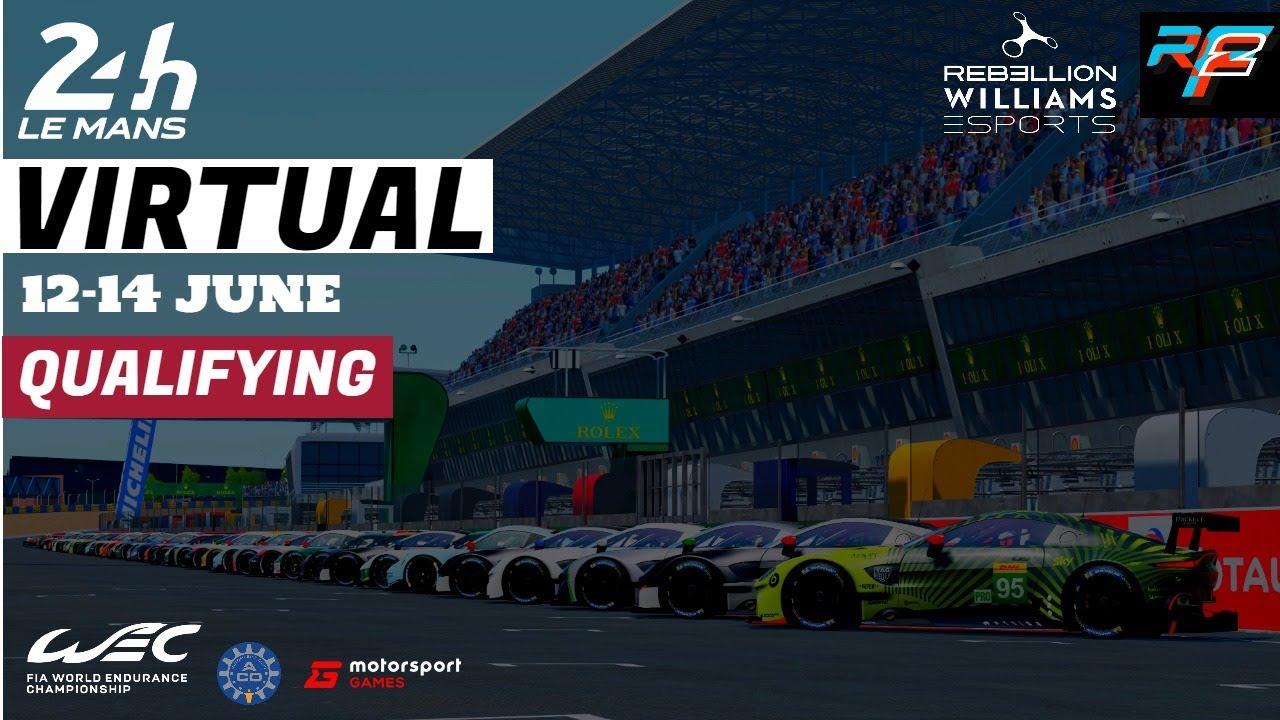Las 24 Horas de Le Mans se pasan a lo virtual
