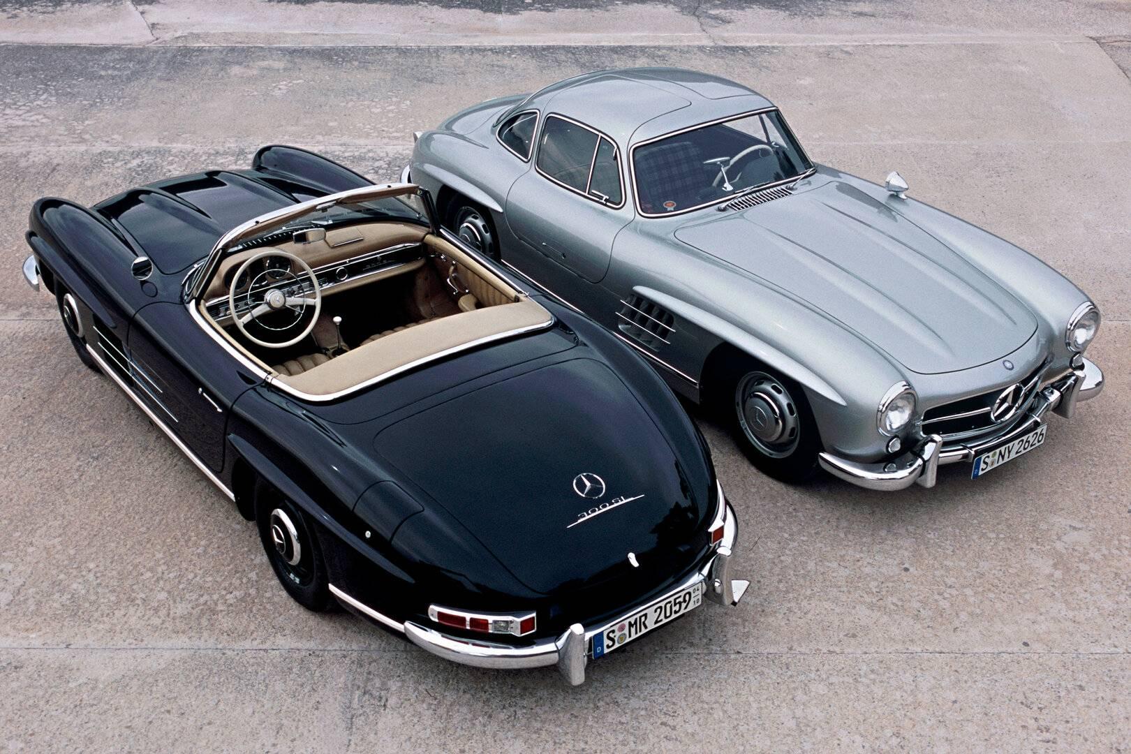 Coche del día: Mercedes-Benz 300 SL (W198)