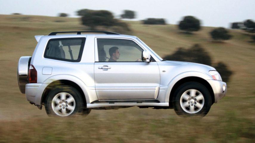 Mitsubishi Montero 3p 2003