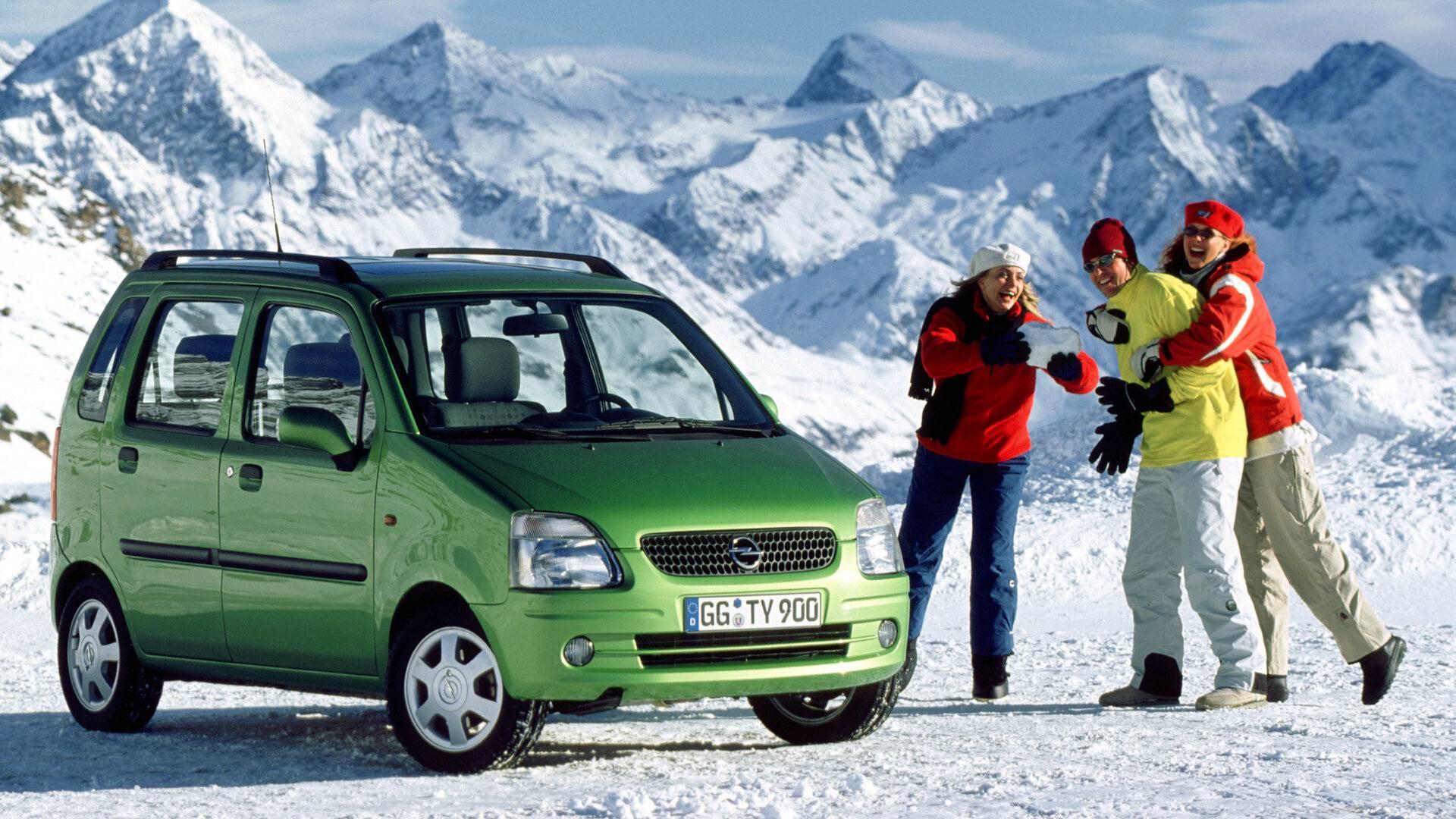 Coche del día: Opel Agila (A)