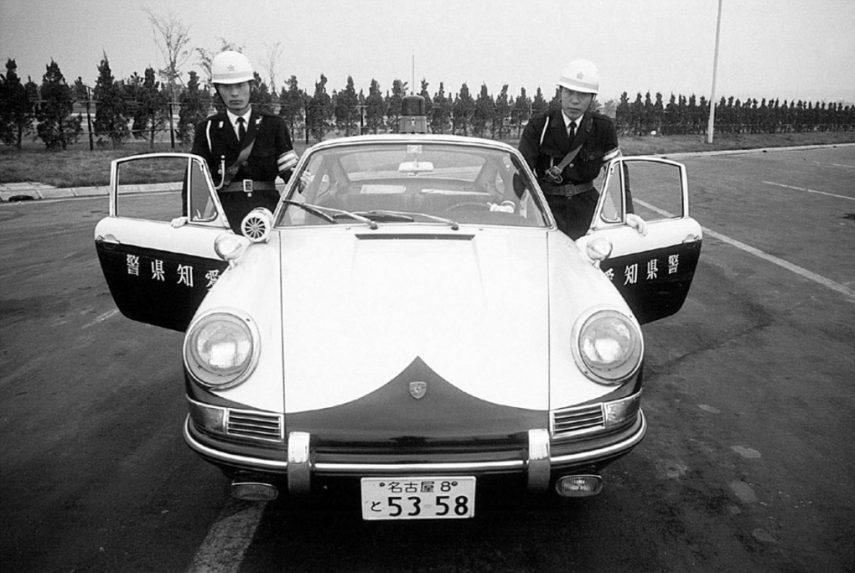 Porsche 912 Coupe policial