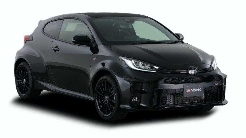 Toyota muestra la gama completa del GR Yaris: RS, RZ y RC