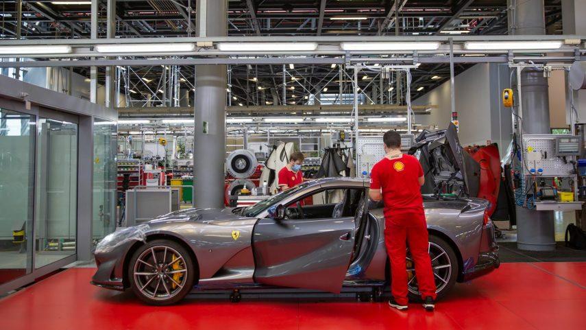 15 fabricacion Ferrari COVID