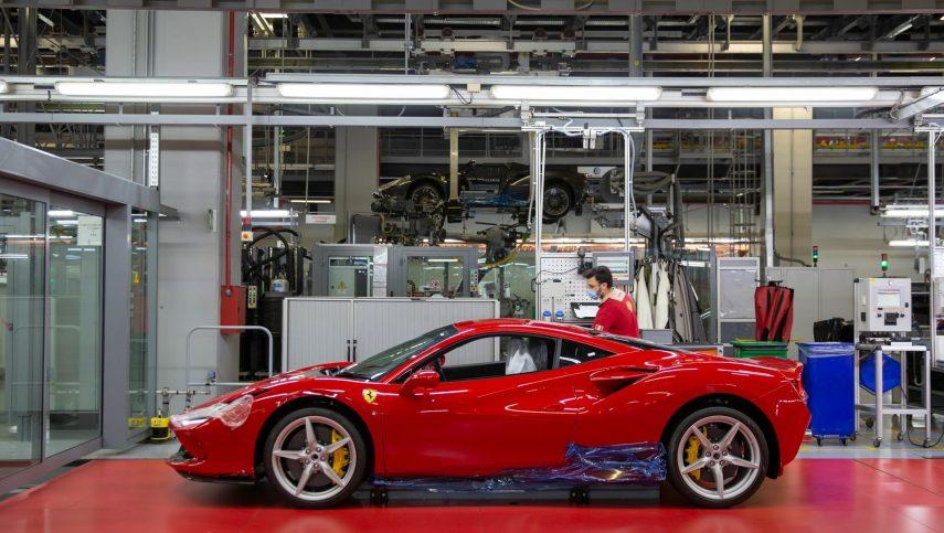 16 fabricacion Ferrari COVID
