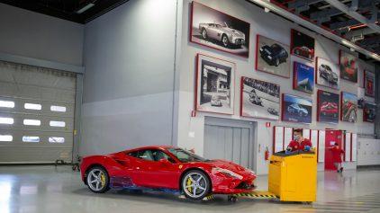 17 fabricacion Ferrari COVID