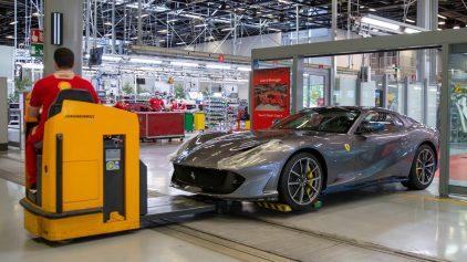 18 fabricacion Ferrari COVID