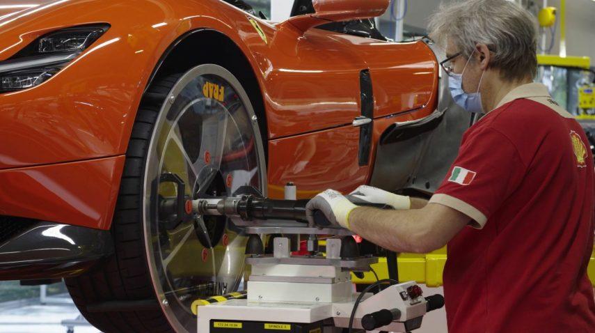 19 fabricacion Ferrari COVID