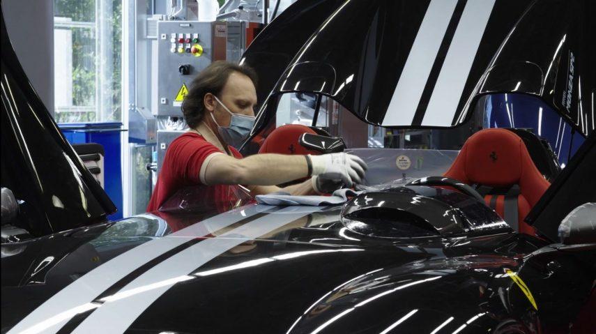 20 fabricacion Ferrari COVID