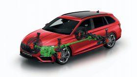 2020 Skoda Octavia RS Combi (10)