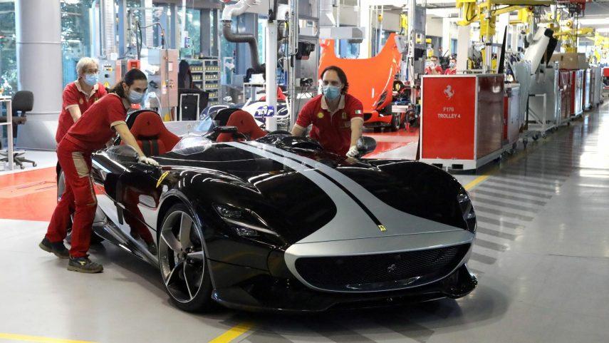21 fabricacion Ferrari COVID