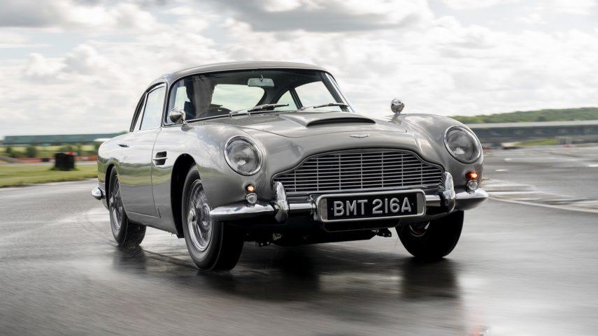Aston Martin DB5 Goldfinger Continuation, una obra de arte solo para los más acérrimos