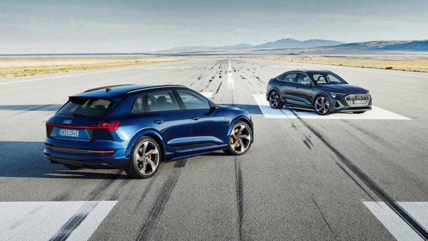 Audi e-tron S y e-tron S Sportback, nuevas versiones deportivas disponibles a partir de otoño