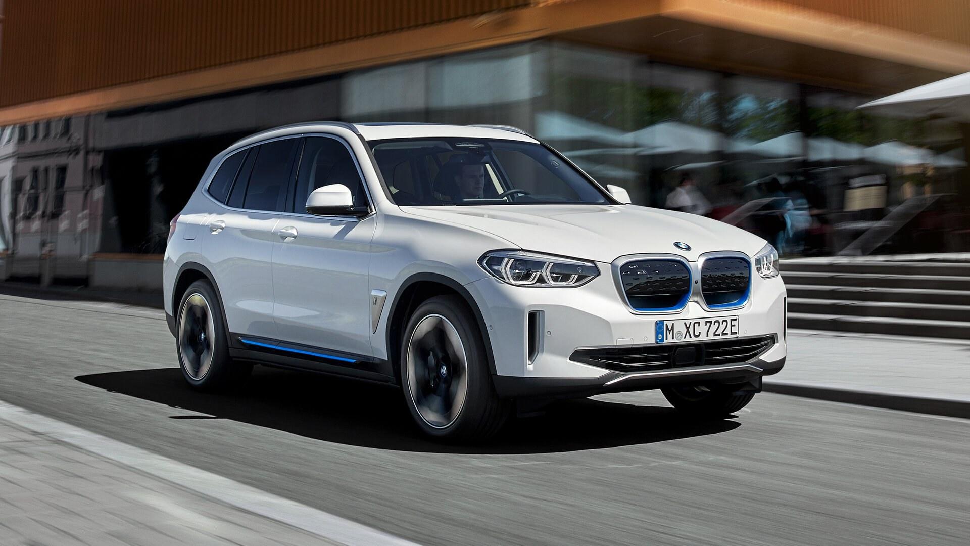 BMW iX3 eléctrico, uno más en la familia para 2021