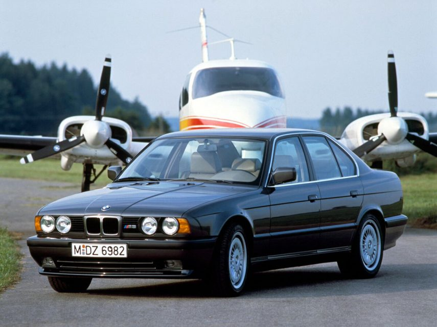 Coche del día: BMW M5 (E34)