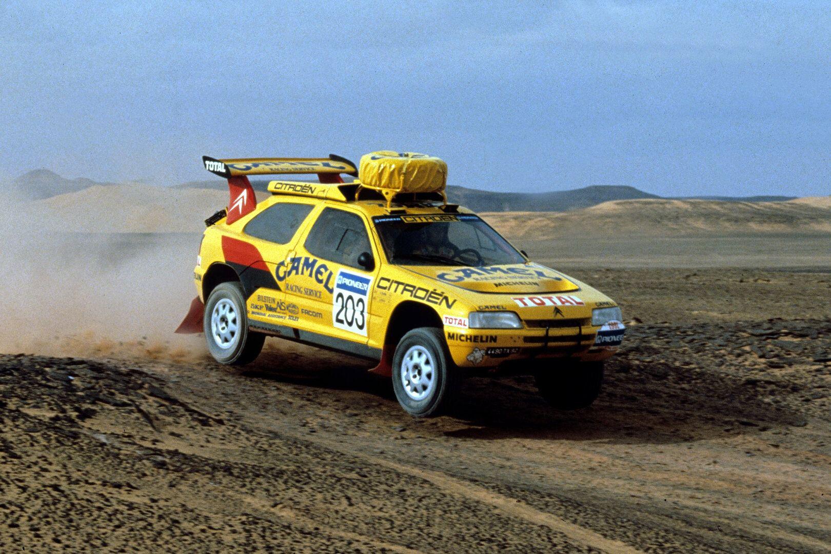 El Citroën ZX Rally-Raid cumple 30 años
