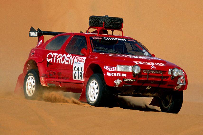 Citroen ZX Rally Raid Paris Dakar 1993