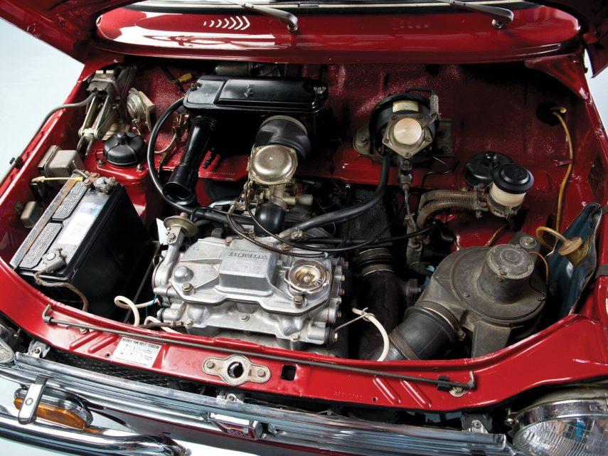 Honda N600 motor