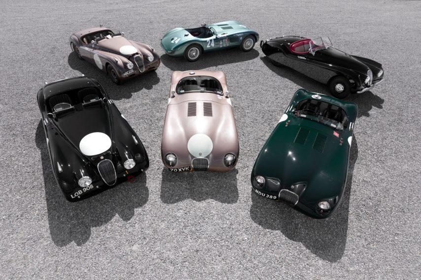 Coche del día: Jaguar C-Type/XK 120-C