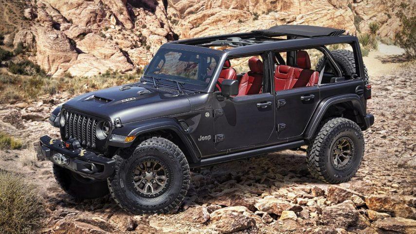 Jeep Wrangler Rubicon 392 Concept: un todoterreno muy deseado