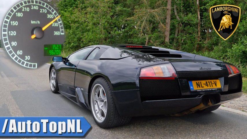 Enámorate del sonido de este Lamborghini Murciélago