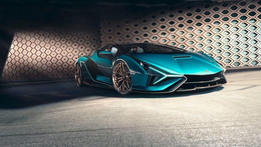 Lamborghini Sián Roadster 2020: potencia híbrida a cielo abierto