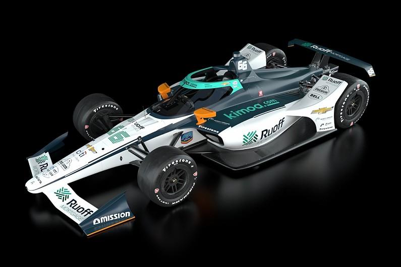 Este es el Arrow McLaren SP IndyCar que Fernando Alonso pilotará en la Indy 500 2020