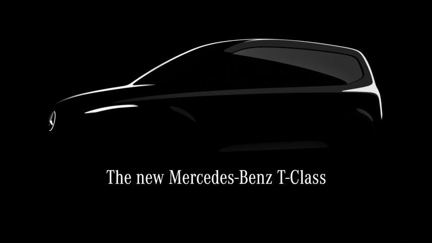 Mercedes Clase T, una furgoneta que llega en 2022 con motor eléctrico