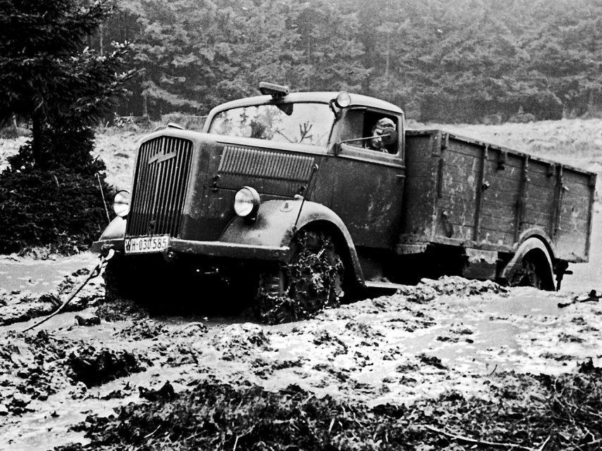 Coche del día: Opel Blitz