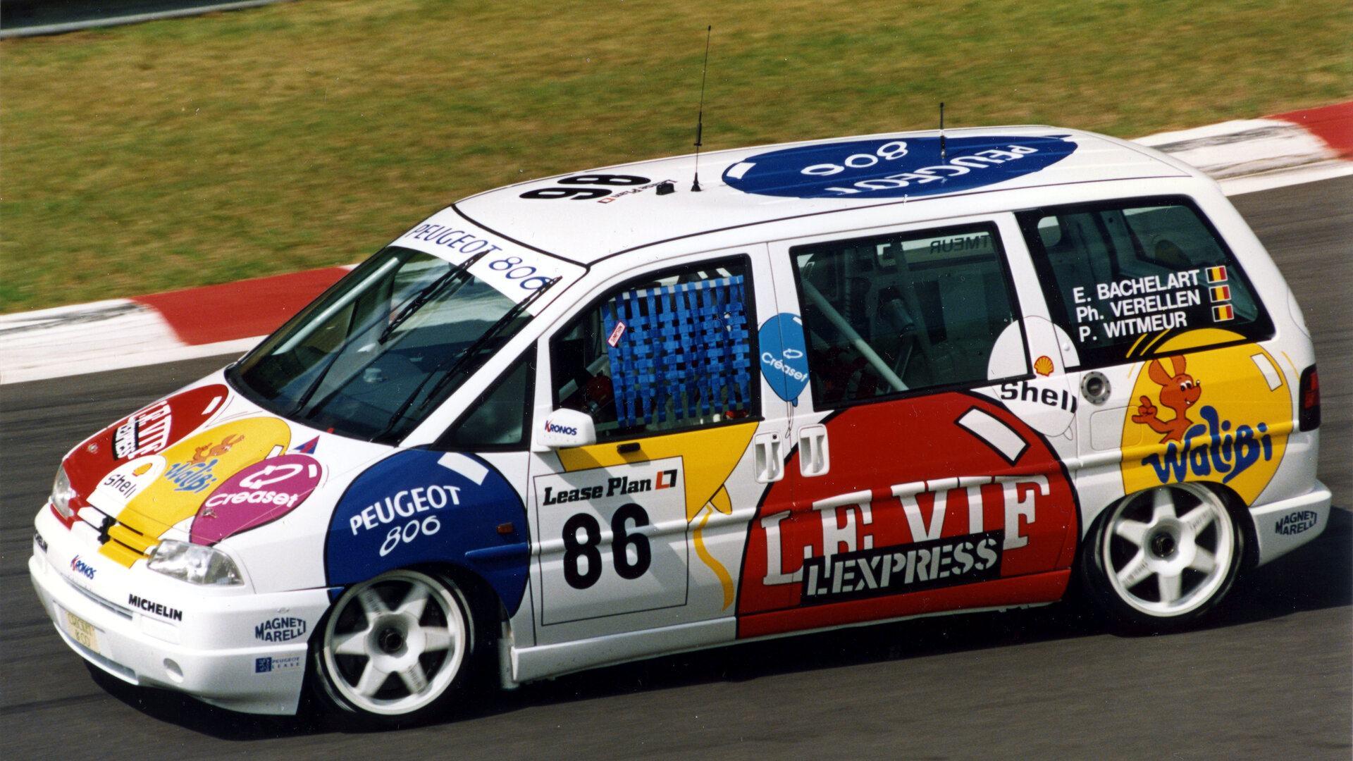 El Peugeot 806, un buen día como hoy, compitió en SPA-Francorchamps