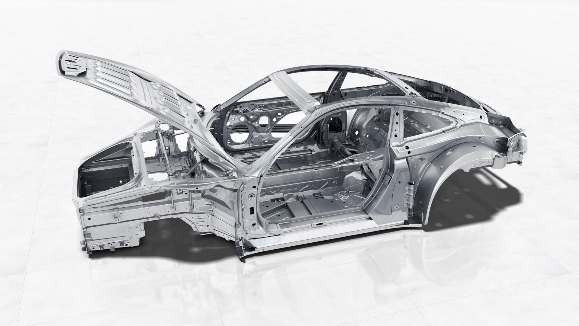 Los secretos del chasis del Porsche Taycan y 911