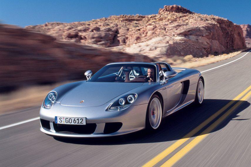 Coche del día: Porsche Carrera GT (980)