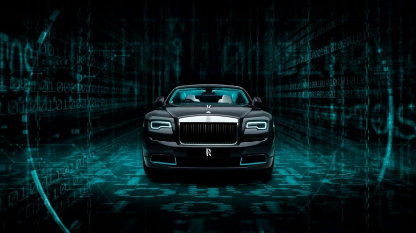 Rolls-Royce facilita la primera pista de su Wraith Kryptos Collection