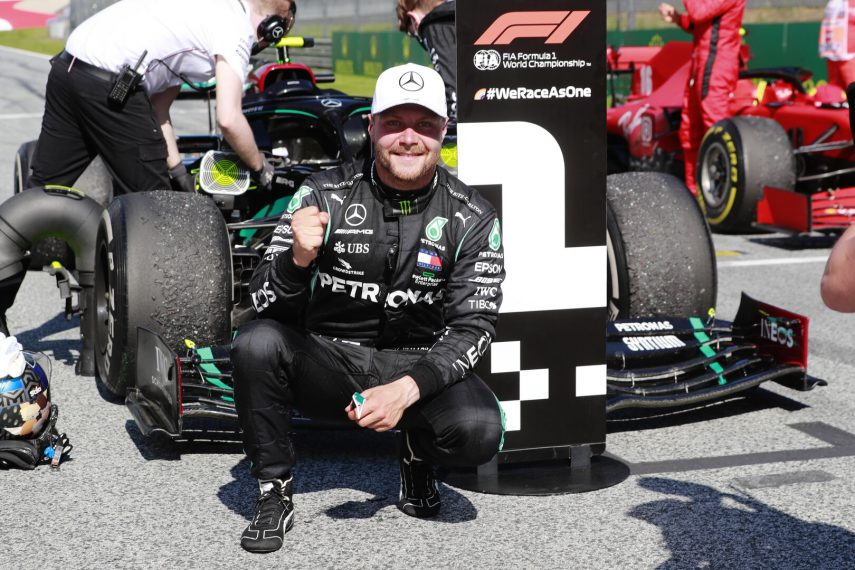 Valtteri Bottas se lleva la victoria en el Gran Premio de Austria
