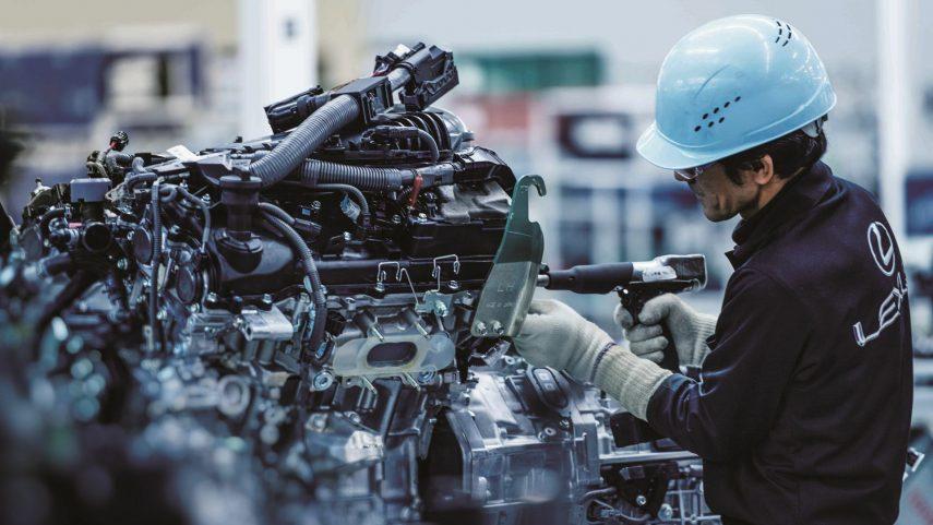 03 Lexus montaje motor
