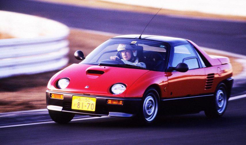 Coche del día: Mazda Autozam AZ-1/Suzuki Cara (PG6SA)
