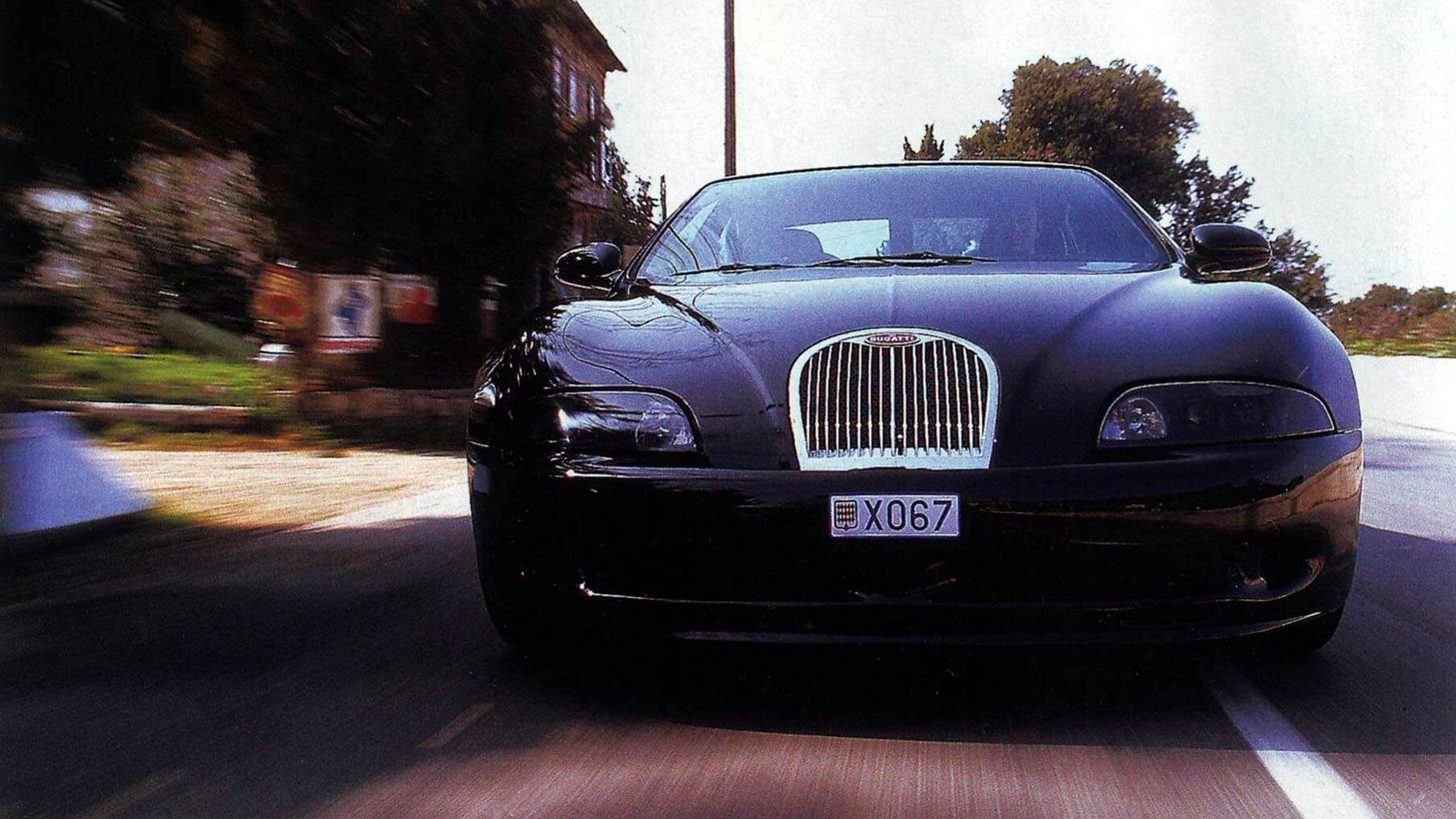 Coche del día: Bugatti EB112