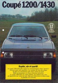 Catalogo SEAT 1200 1430 Sport Francia