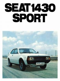 Catalogo SEAT 1430 Sport Belgica