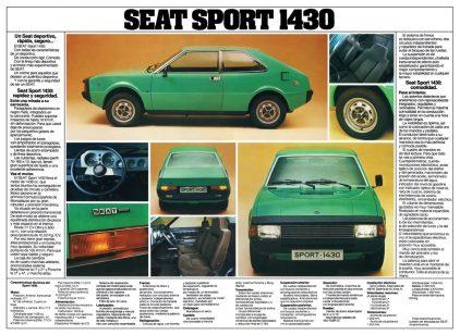 Catalogo SEAT 1430 Sport Espana