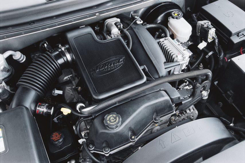 Chevrolet TrailBlazer motor Vortec 4200