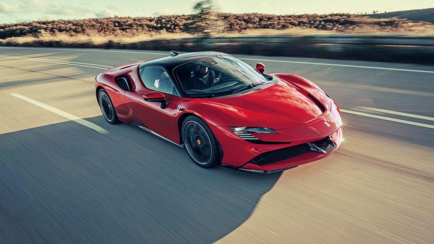 Ferrari tendrá un modelo 100 % eléctrico