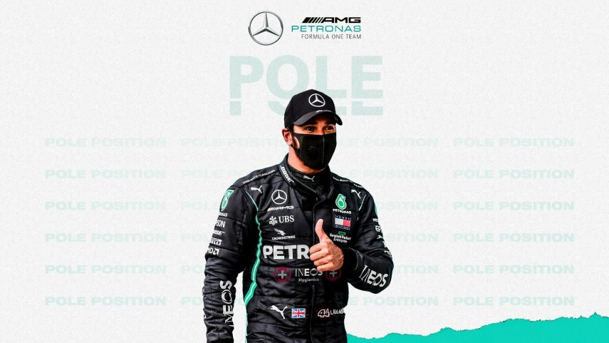Trompo y pole para Lewis Hamilton en el Gran Premio de Gran Bretaña